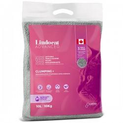 LINDOCAT ADVANCED Clumping Plus Lettiera Micro Agglomerante Bianca per Gatto da 10 litri bentonite al Talco