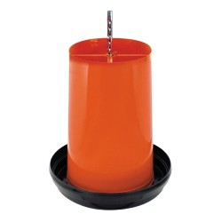 Mangiatoia tramoggia con coperchio per POLLI da 27 litri