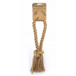 BECOTHINGS Gioco per Cane Corda Jungle Naturale, Large 45 cm
