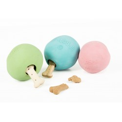 BECOBALL Palla in Gomma Naturale Per Cani  Small Ø 5 cm.