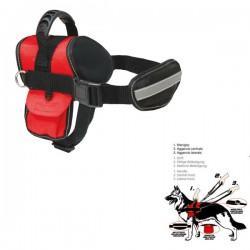 SWAT Pettorina Cane Resistente Imbottita con Guinzaglio e Maniglia 73-100 cm