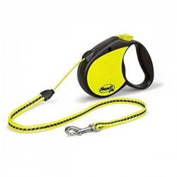 FLEXI NEON  Guinzaglio Avvolgibile con Corda Medium 5 mt port.Max 20 kg