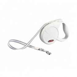 FLEXI CLASSIC COMPACT 1  Guinzaglio Avvolgibile con Fettuccia Small 5 mt port.Max 15 kg