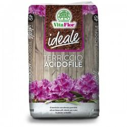 VITAFLOR IDEALE Terriccio Acidofile 45 lt per piante Acidofile