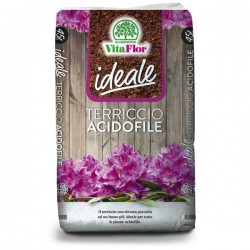 VITAFLOR IDEALE Terriccio Acidofile 20 lt per piante Acidofile