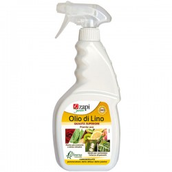 Zapi Olio di Lino Pronto Uso Corroborante da 500 ml potenziatore delle difese delle piante