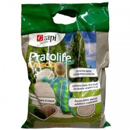 ZAPI PRATOLIFE PLUS CRESCITAConcime microscaglia per il tappeto erboso 4 kg NPK 18-5-6
