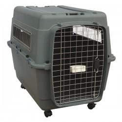 FARM COMPANY AVIO 80 Misura M Trasportino per cani conforme agli standard per il trasporto aereo 80x56x59h cm