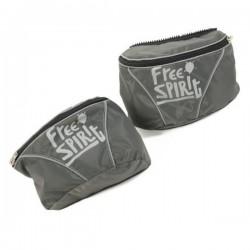 FREE SPIRIRT Kit due borse per pettorina Active Tg.L