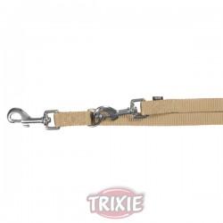 TRIXIE Premium Guinzaglio Addestramento per Cane in Nylon BEIGE 20x2000 mm