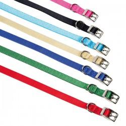 FARM COMPANY Collare regolabile in nylon con Fibbia per Cane 20 mm x50 cm