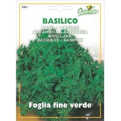Hortus Ortovivo - semi di Basilico Foglia Fine Verde
