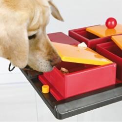 TRIXIE Gioco Strategico Poker Box Per Cani LIVELLO 2