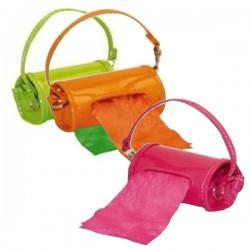 CANIAMICI Dispenser Minibag FLUO per sacchetti igienici + Rotolo omaggio
