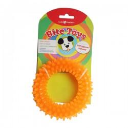FARM COMPANY Bite Toys Ciambella in Gomma Fluo 13 cm