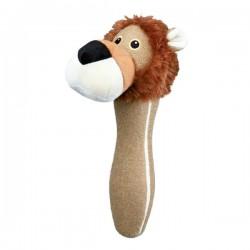 TRIXIE Gioco Bastone LEONE con sonaglio per cane 30 cm