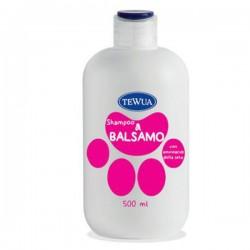 TEWUA Shampoo e Balsamo scioglinodi per Cani 500 ml.