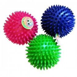 BITE BALL Palla Riccio in gomma per Cani Ø 8 cm.