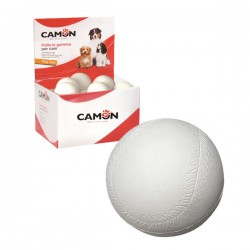 CAMON Palla Baseball in gomma per Cani Ø 7 cm.