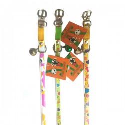 FARM COMPANY collarini per cane e gatto elasticizzati in similpelle 10 mm X 30 cm