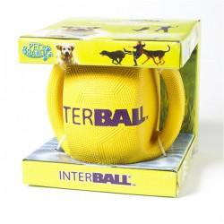 INTER BALL INTERBALL Palla in gomma con maniglie  per Cani Ø 18 cm.