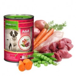 NATURES MENU Beef With Chicken ADULT - CIBO UMIDO PER CANE ADULTO gusto MANZO CON POLLO da 400 gr