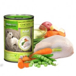 NATURES MENU Chicken ADULT - CIBO UMIDO PER CANE ADULTO gusto POLLO da 400 gr