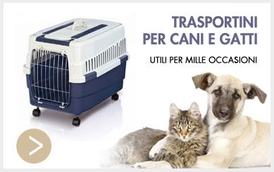 Trasportini per cani e gatti